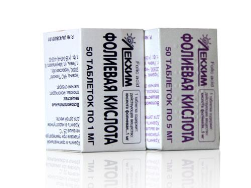 Фолиевая кислота при выпадении волос отзывы