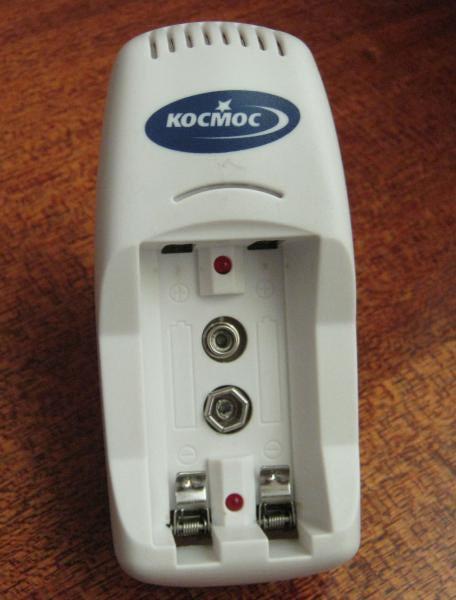 зарядное устройство для батареек космос инструкция