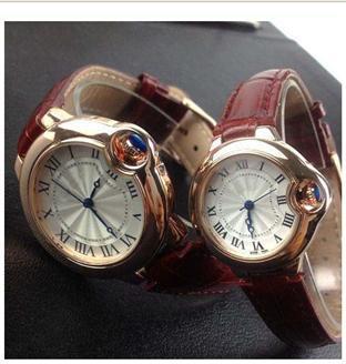 cfa82f4c Часы женские Aliexspress Cartier Fashion vintage elegant wristwatch women  top brand watch genuine leather watch quartz