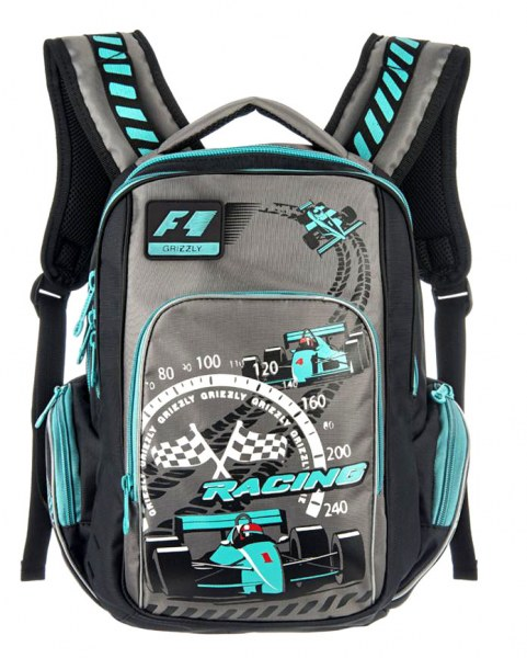 779aef3deeb1 Школьный ранец/рюкзак Grizzly для мальчика RB-630-1 | Отзывы покупателей
