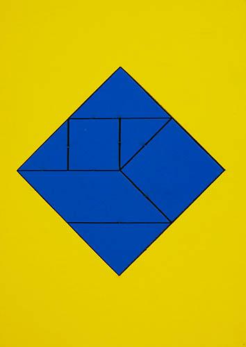 Волшебный квадрат головоломка