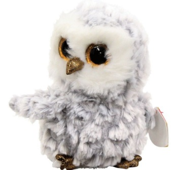 мягкая игрушка Ty Inc Beanie Boo S белая сова Owlette 15 см отзывы покупателей