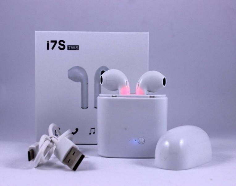 беспроводные наушники Aliexpress I7s Tws отзывы покупателей