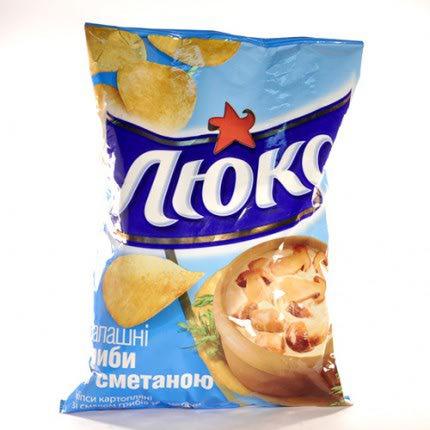 Чипсы картофельные Люкс   Отзывы покупателей Люкс Чипсы