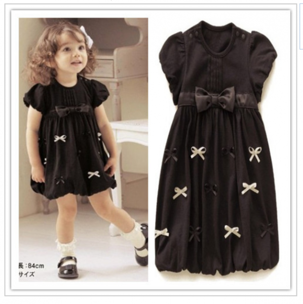Черное дерзкое платье