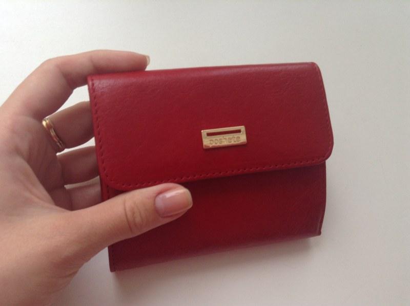 6775d414f8ee Женский кошелек Poshete Red (натуральная кожа лакированная) большой  905-517-66A-