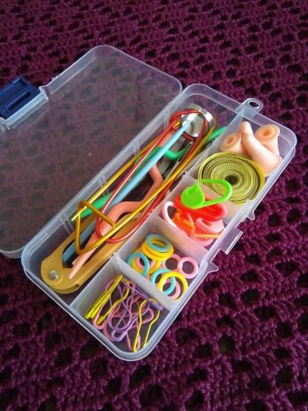 Набор инструментов для вязания Aliexpress Hot Knitting Tools Crochet Yarn Hook Stitch Accessories Supplies With Case Knit Kit Free Shipping - отзывы