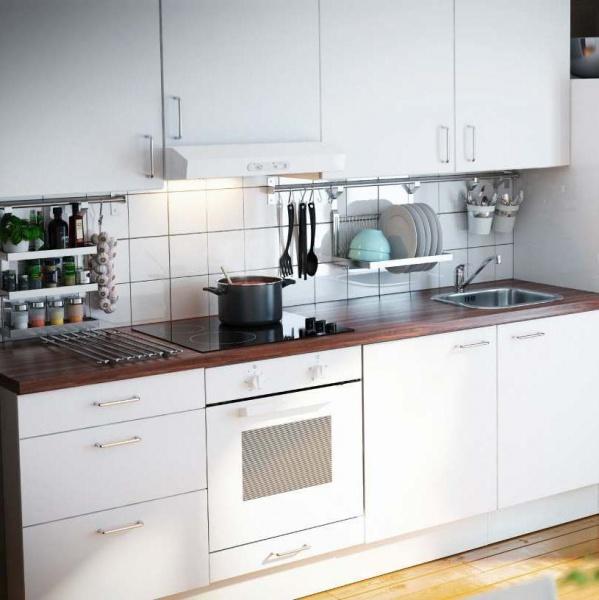 кухня икеа фактум фото