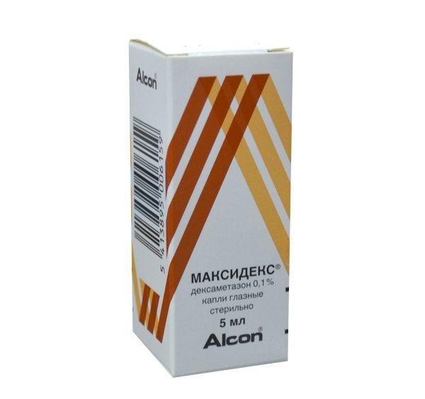 Максидекс, глазные капли 0. 1%, 5 мл купить, цена и отзывы.