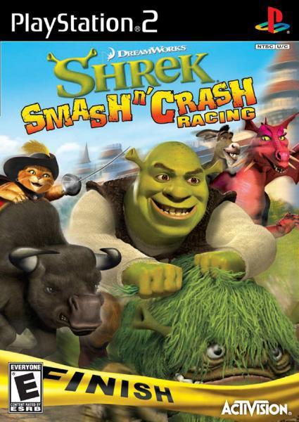 Shrek Smash N Crash Racing [PS2] - ??????