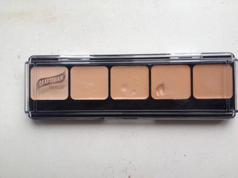 Graftobian makeup