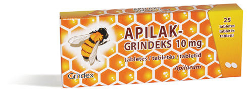 Апилак гриндекс 10 мг n25 таблетки: цена, инструкция, отзывы.