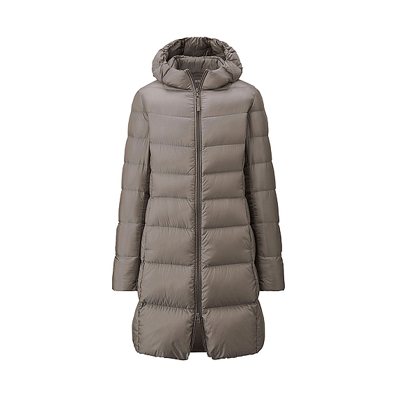 2d326448a48bb Пуховик UNIQLO Women женское ультралегкое пальто-пуховик арт. 128590 - отзыв