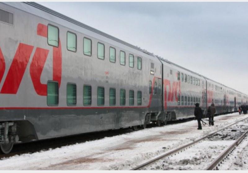 и показывает фото вагоны поезд