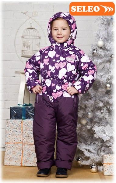 3f5dd9aaa821 Детский зимний комбинезон Seleo Модель 899-16
