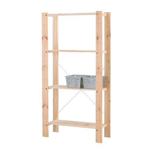 инструкция сборки стеллажа икеа деревянный