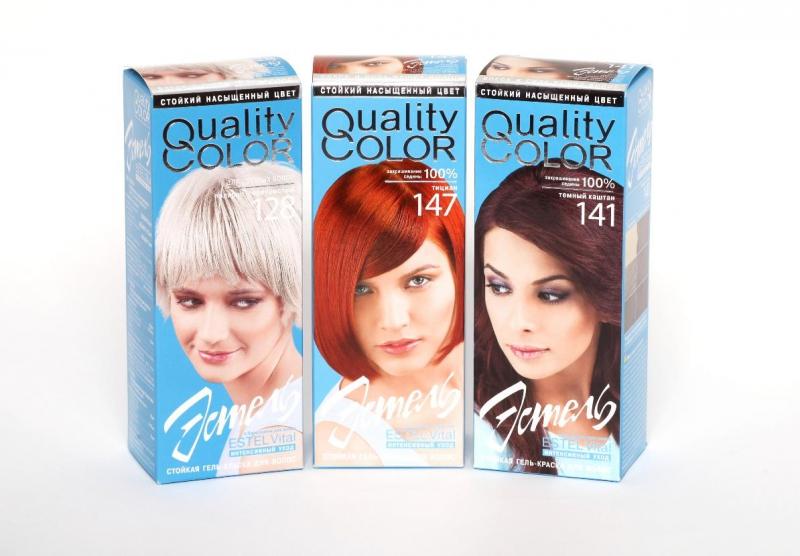 краска для волос эстель палитра цветов фото на волосах 8.1