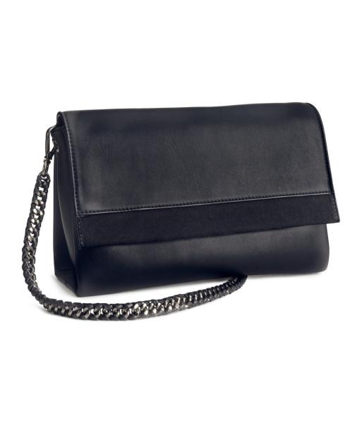 bcfe2d9139f4 Женская сумка из натуральной кожи H&M черная премиальное качество Art.No.  41-5824 - отзывы