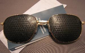 корректирующие очки с дырочками инструкция - фото 9