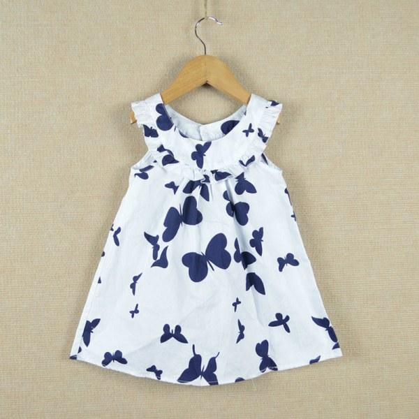 Летнее платье для маленькой девочки