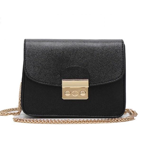 f7b98f191fdc Сумка Aliexpress F Mini Metropolis Bag Women PU Leather Small Messenger  Bags Handbags Women Famous Brands Chains Corssbody Bag Sac A Main Marque -  отзывы
