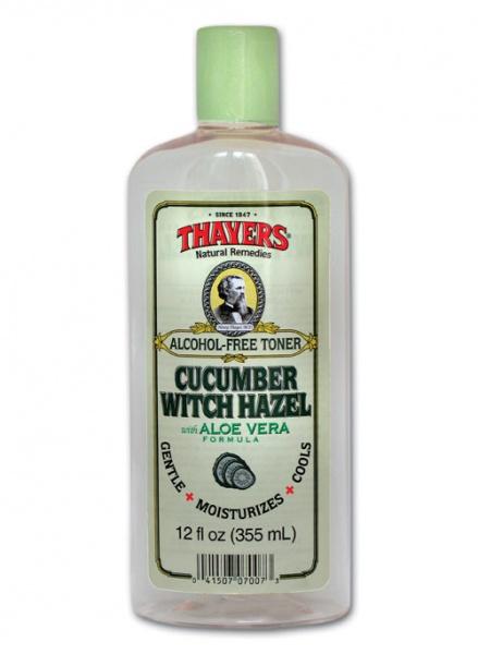 Thayers Witch Hazel with Aloe Vera, Cucumber 12 oz Ms. Moyra Collagen Cream 4 oz