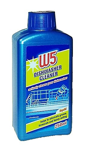 W5 dishwasher cleaner инструкция