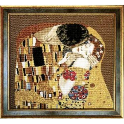 Вышивка крестом поцелуй набор