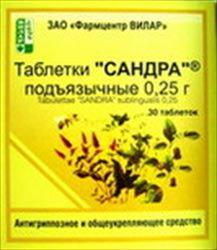 сандра гомеопатия инструкция - фото 10