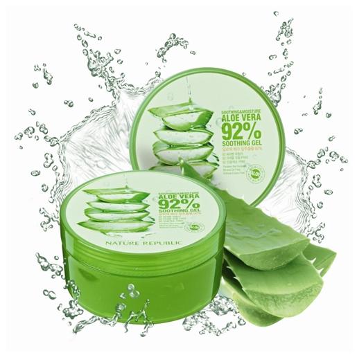 natural aloe gel