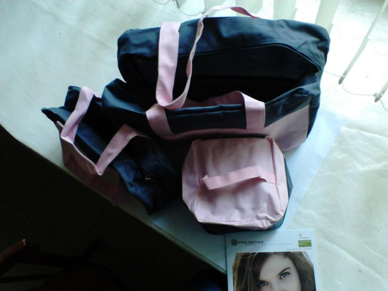 bcc211bc11cc Сумка Ив Роше / Yves Rocher набор из 3-х сумок - «а мне понравились ...