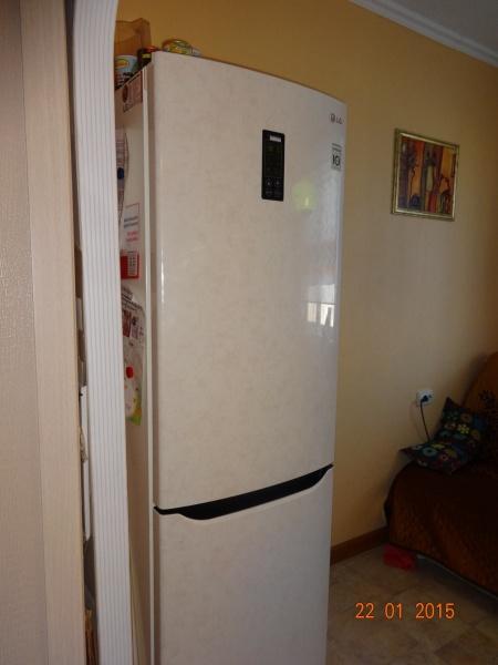 холодильник с морозильником Lg Ga B409seqa удобный недорогой и