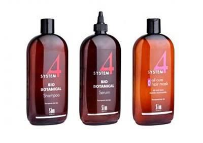 комплекс от выпадения волос Sim Sensitive System 4 терапевтическая