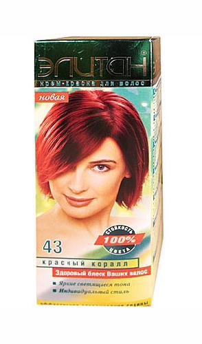 Краска для волос элитан палитра цветов