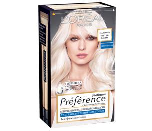 Краска для волос без аммиака блонд