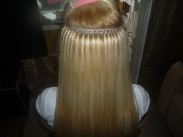 Остались капсулы в волосах