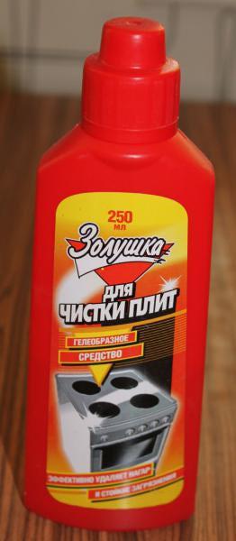 Гель для чистки плиты русские бу электроплита в новосибирске