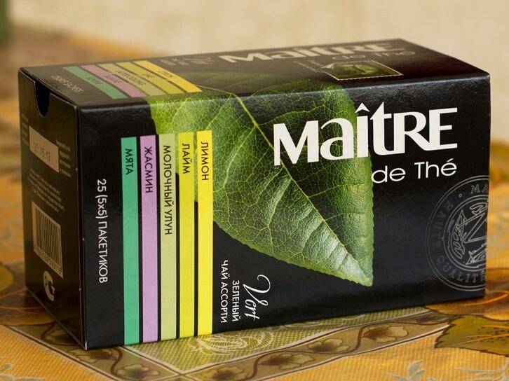 Чай maitre de the купить