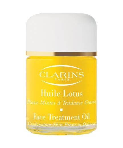 clarins huile lotus face treatment oil. Black Bedroom Furniture Sets. Home Design Ideas
