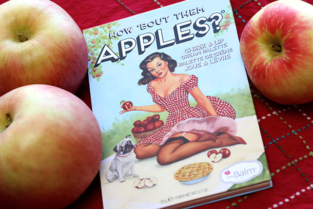the balm how bout them apples