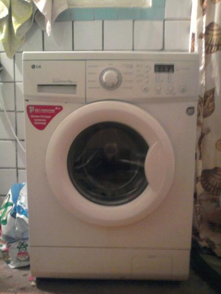 стиральная машина lg 5 5 кг инструкция