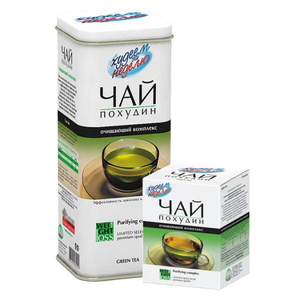"""Чай """"похудин"""" очищающий комплекс (штрихкод 4607041068004 ); отзывы."""