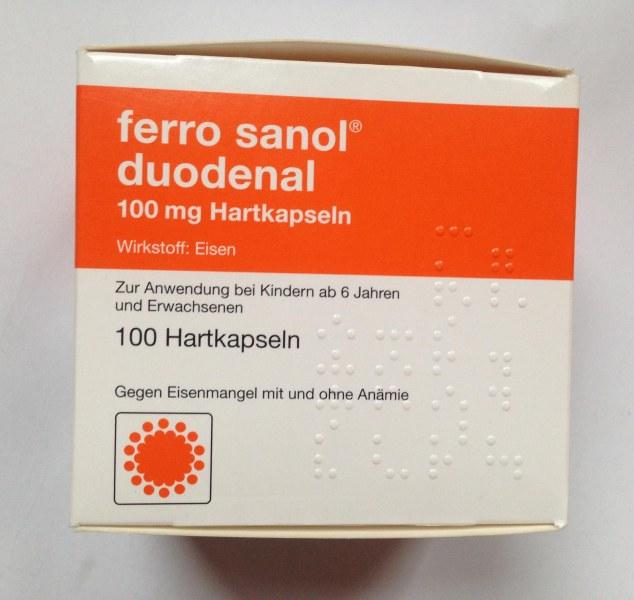 Ferro sanol duodenal инструкция