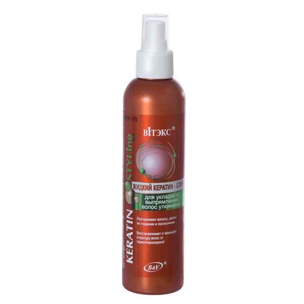Спрей для волос кератин