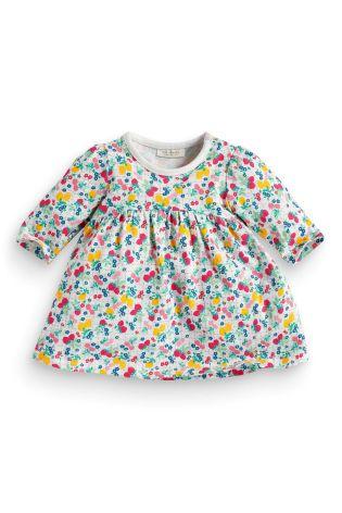 70e7537b6 Детская одежда NEXT Трикотажная туника - платье с рисунком пятнистые фрукты  (артикул 128-060