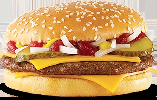 чизбургер макдональдс фото