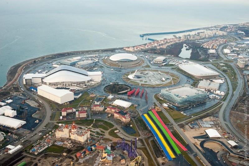 пляж олимпийский парк сочи фото