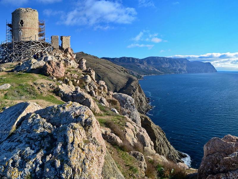 Херсонес отреставрирует балаклавскую крепость Чембало