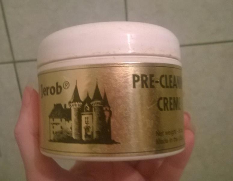 Обезжиривающая паста jerob pre-cleaning creme - \