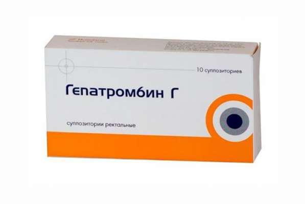 гепатромбин г при геморрое